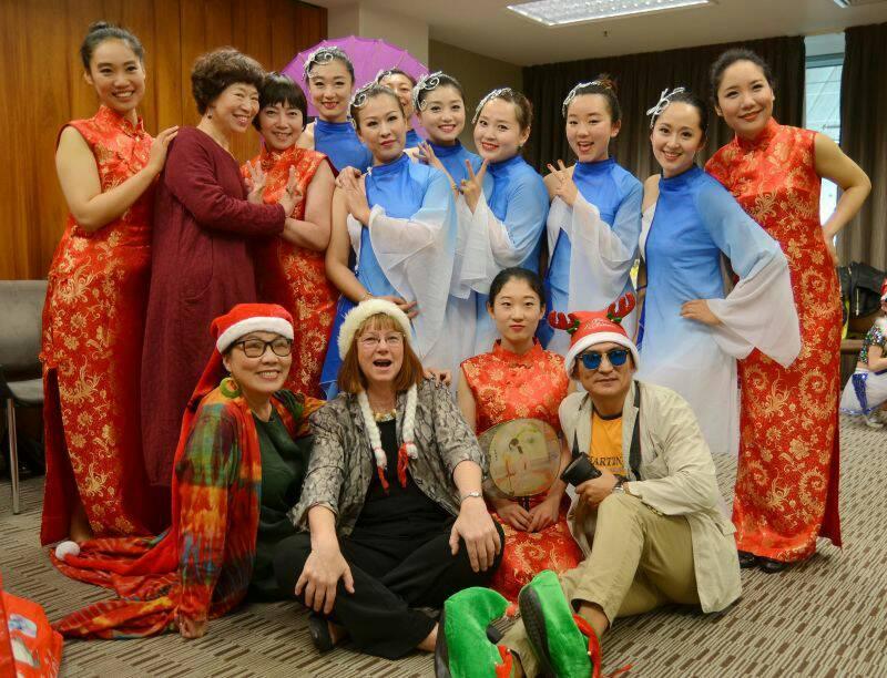 中国风快闪活动为新西兰圣诞节增添一抹亮彩